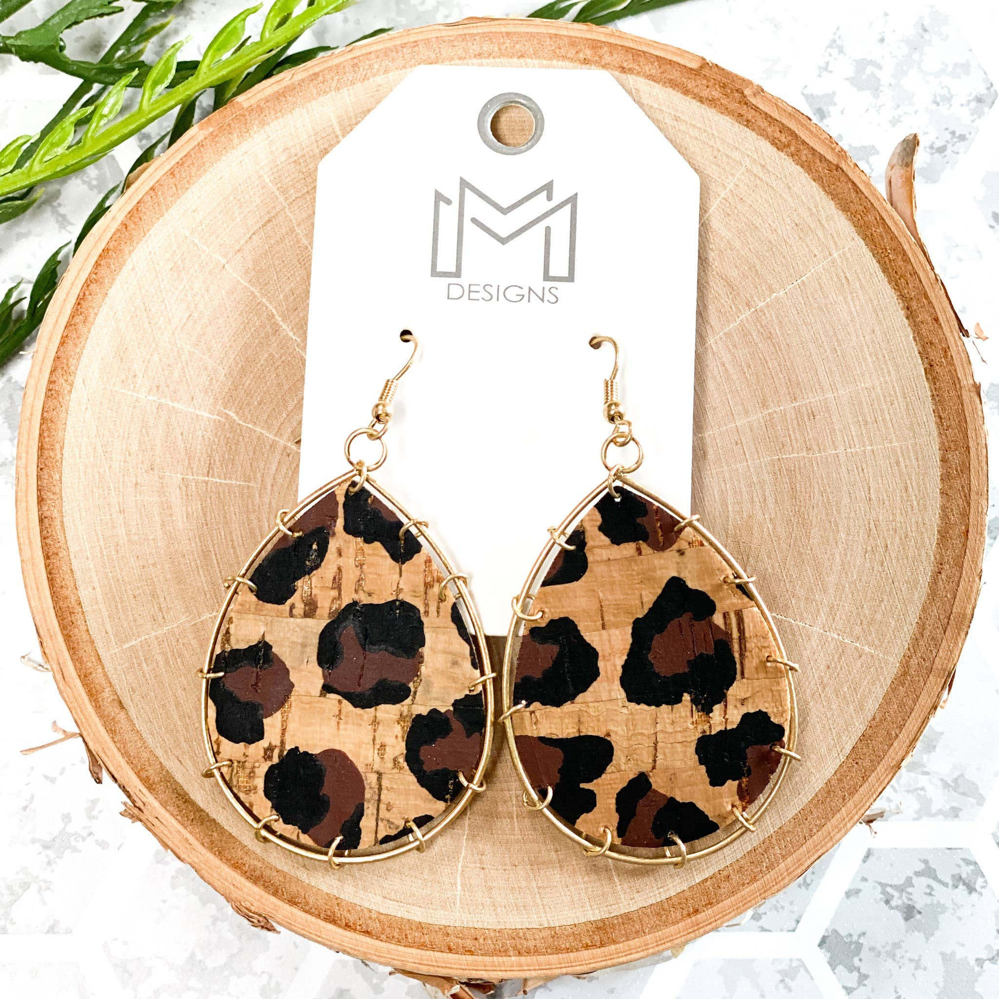 Corky Leopard Earrings - Shopbluemoonbentonville