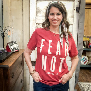 Fear Not T-shirt - Shopbluemoonbentonville