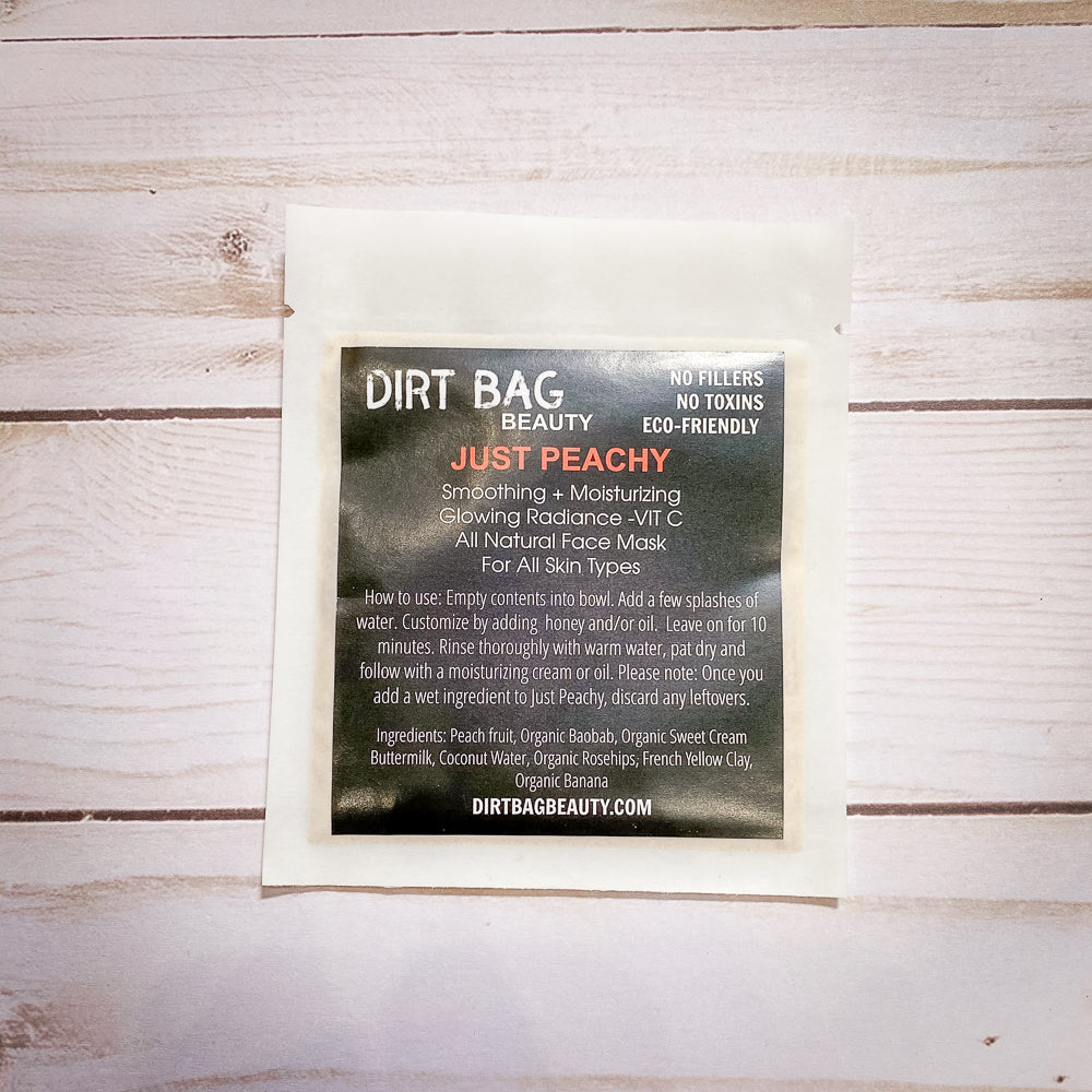 Dirt Bag Facial Mask - Shopbluemoonbentonville