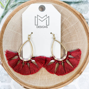 Sadie Tassel Earrings - Shopbluemoonbentonville