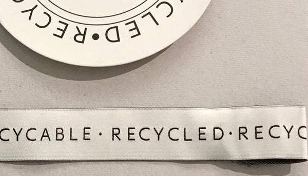 our production hang tags recycled polyester paper