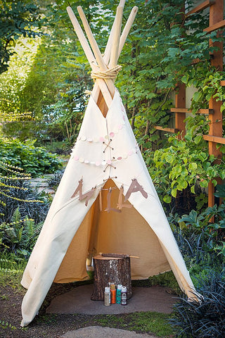 glamping ideas with kids