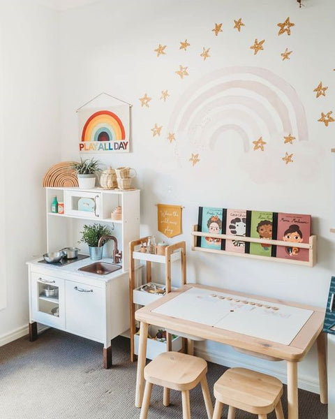 Creating a personal learning space for your kid decoration