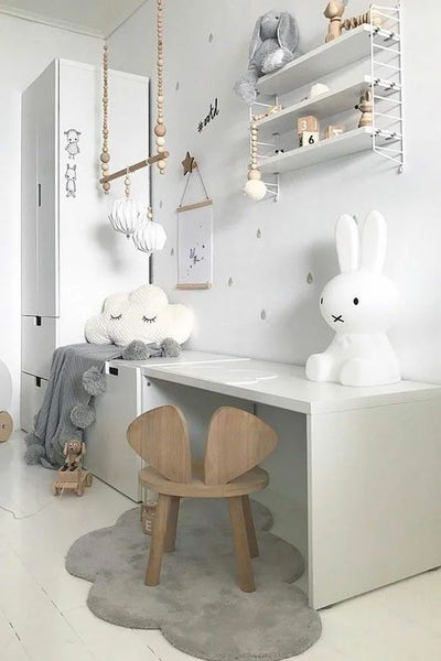 kids interior styling desk corners