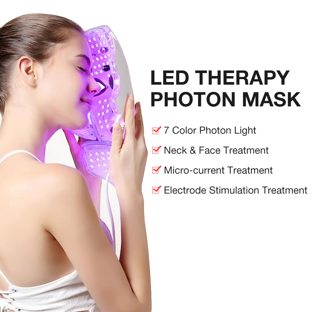 7 COLORFUL LED BEAUTY MASK 1