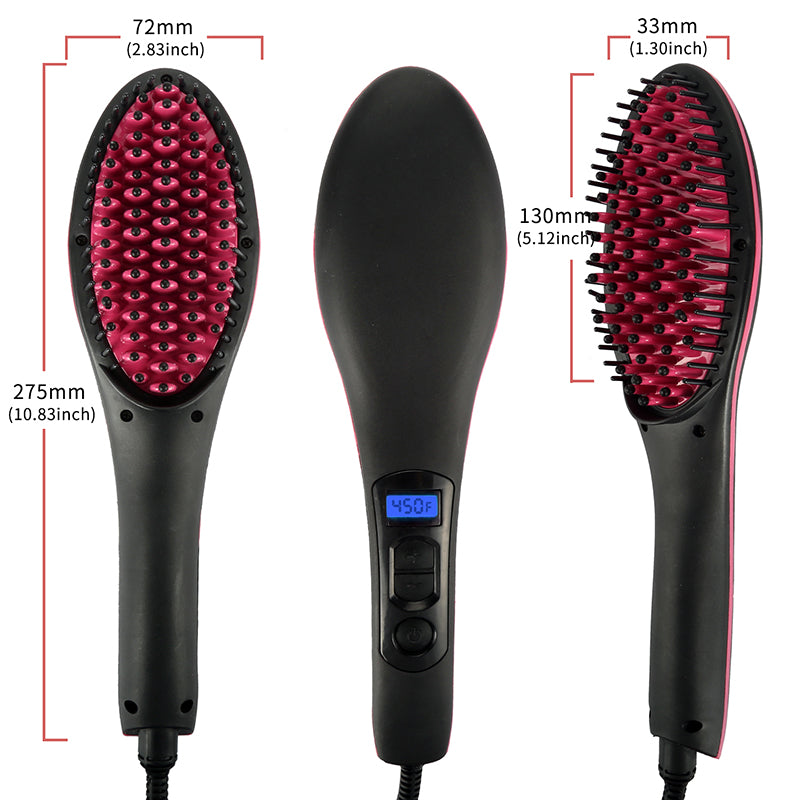 Hair Straightener Brush 11