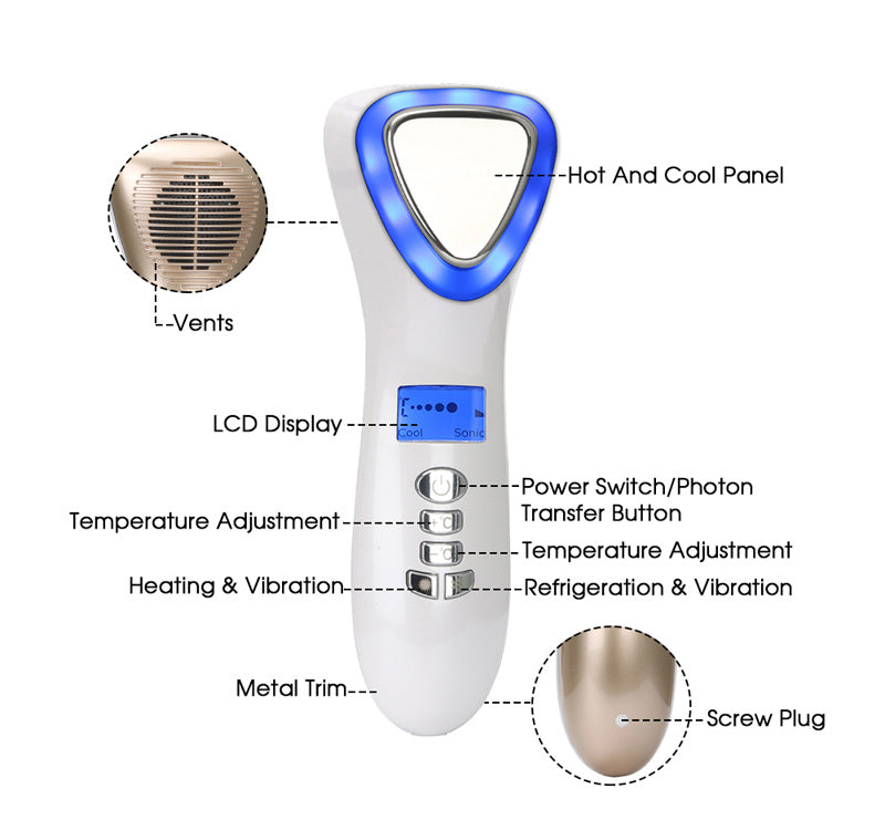 Hot and Cold Facial Massager 7