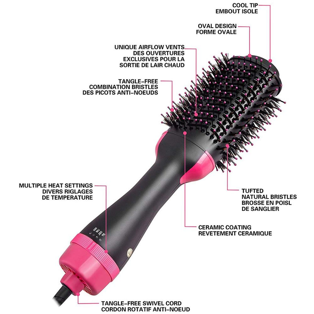 Salon Roller Brush Hair Dryer 8