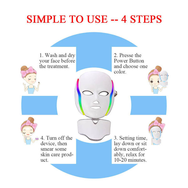 buy LED face mask 3