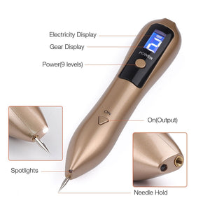Laser Mole Removal Pen Kit | Remove Dark Spots Moles Warts Tattoos Machine