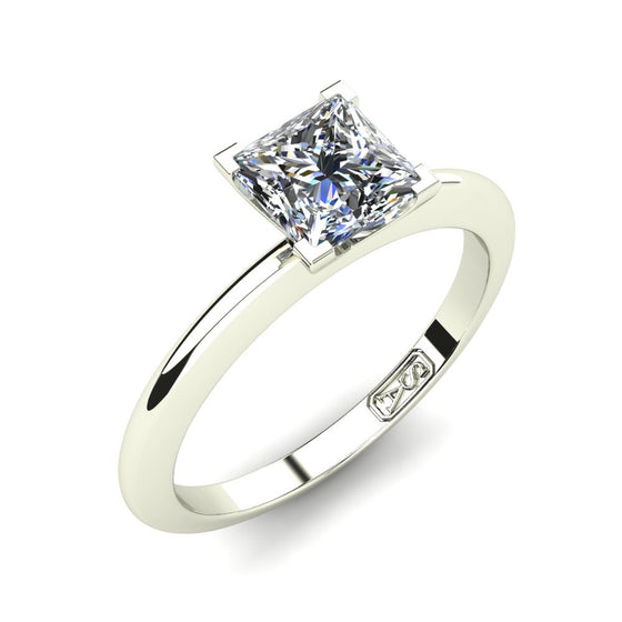 'Nicole' Princess Cut Engagement Ring