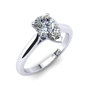 'Katie' Pear Cut Engagement Ring