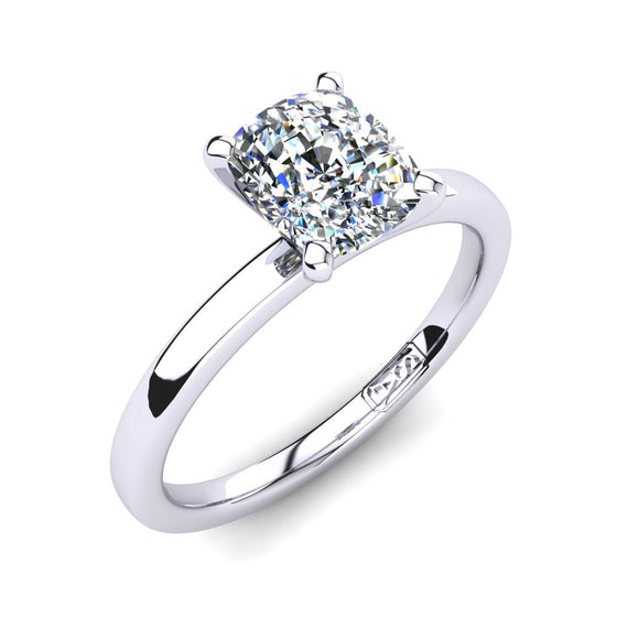 'Fiona' Cushion Cut Engagement Ring