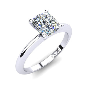 'Nicole' Cushion Cut Engagement Ring