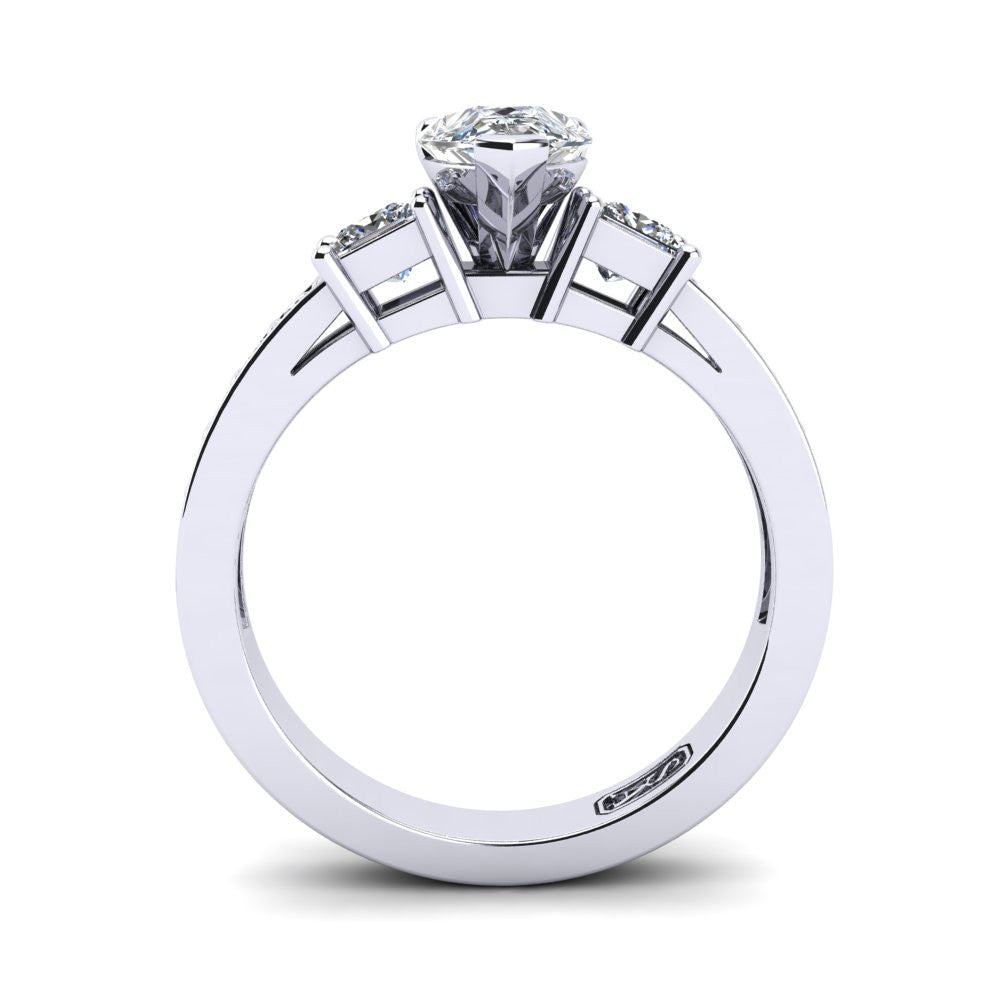 'Tayla' Pear Cut Engagement Ring