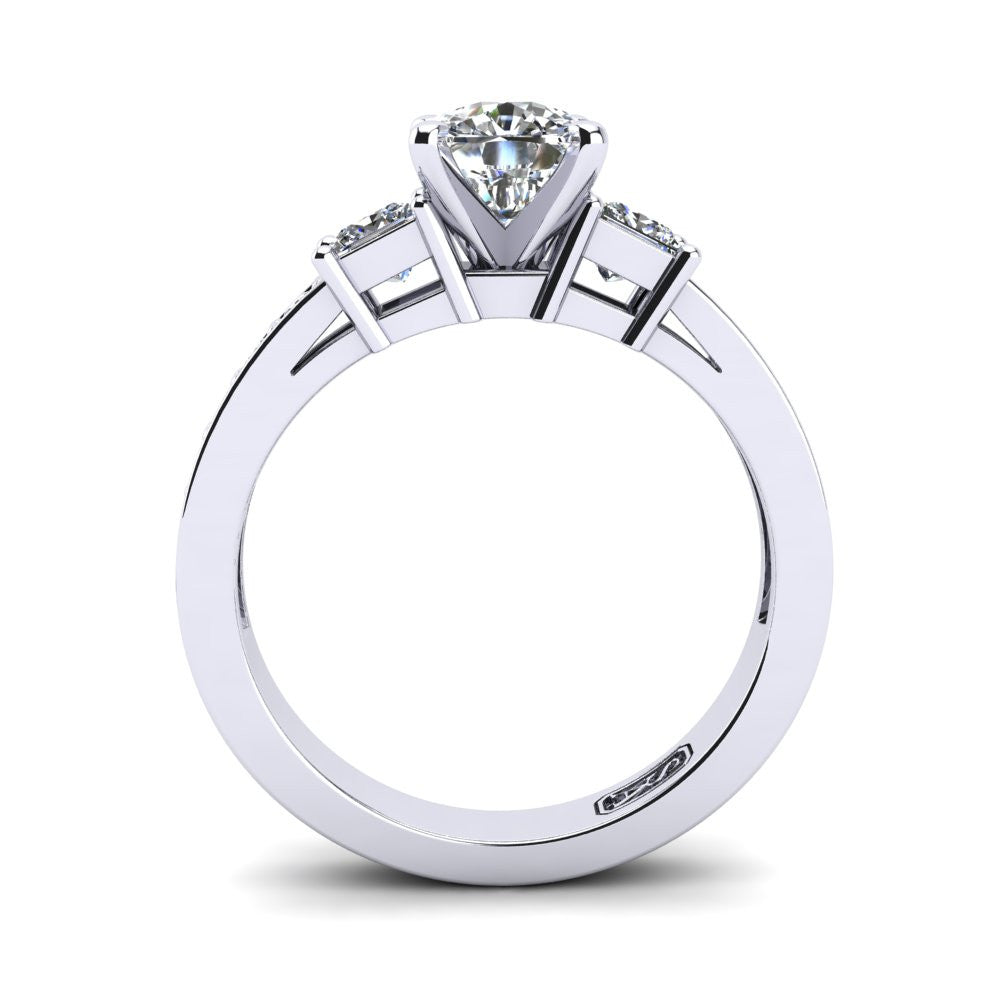 'Tayla' Cushion Cut Engagement Ring