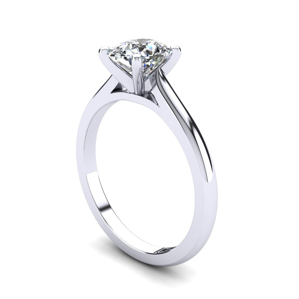 'Katie' Cushion Cut Engagement Ring
