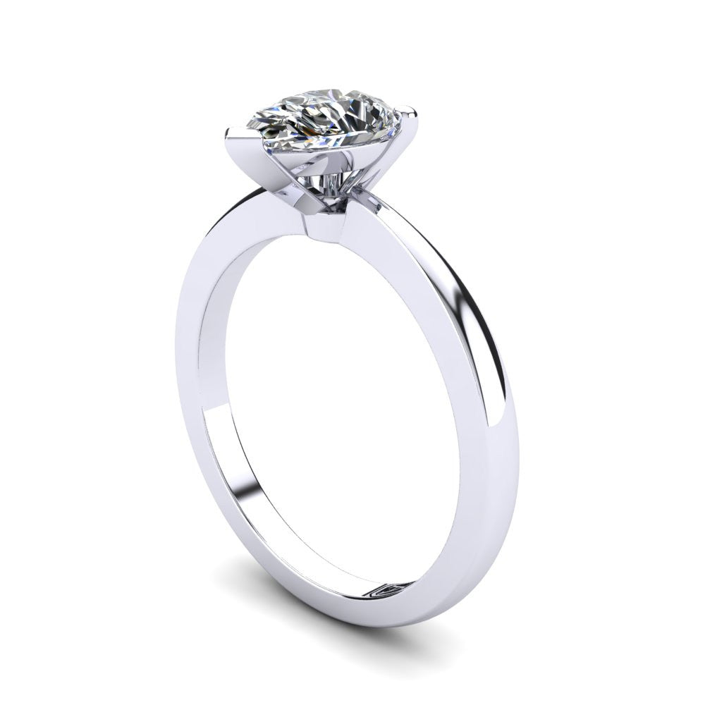 'Grace' Pear Cut Engagement Ring