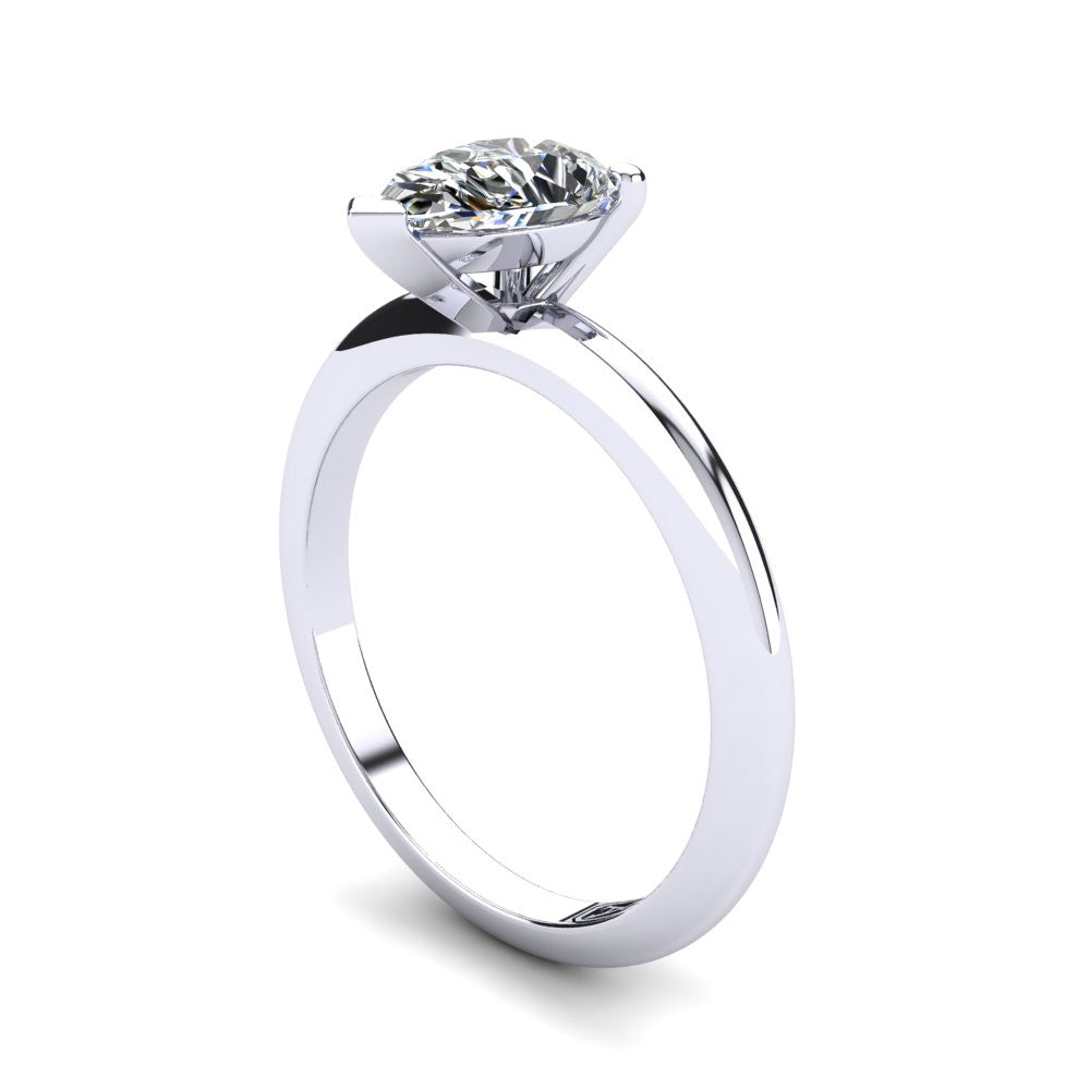 'Nicole' Pear Cut Engagement Ring