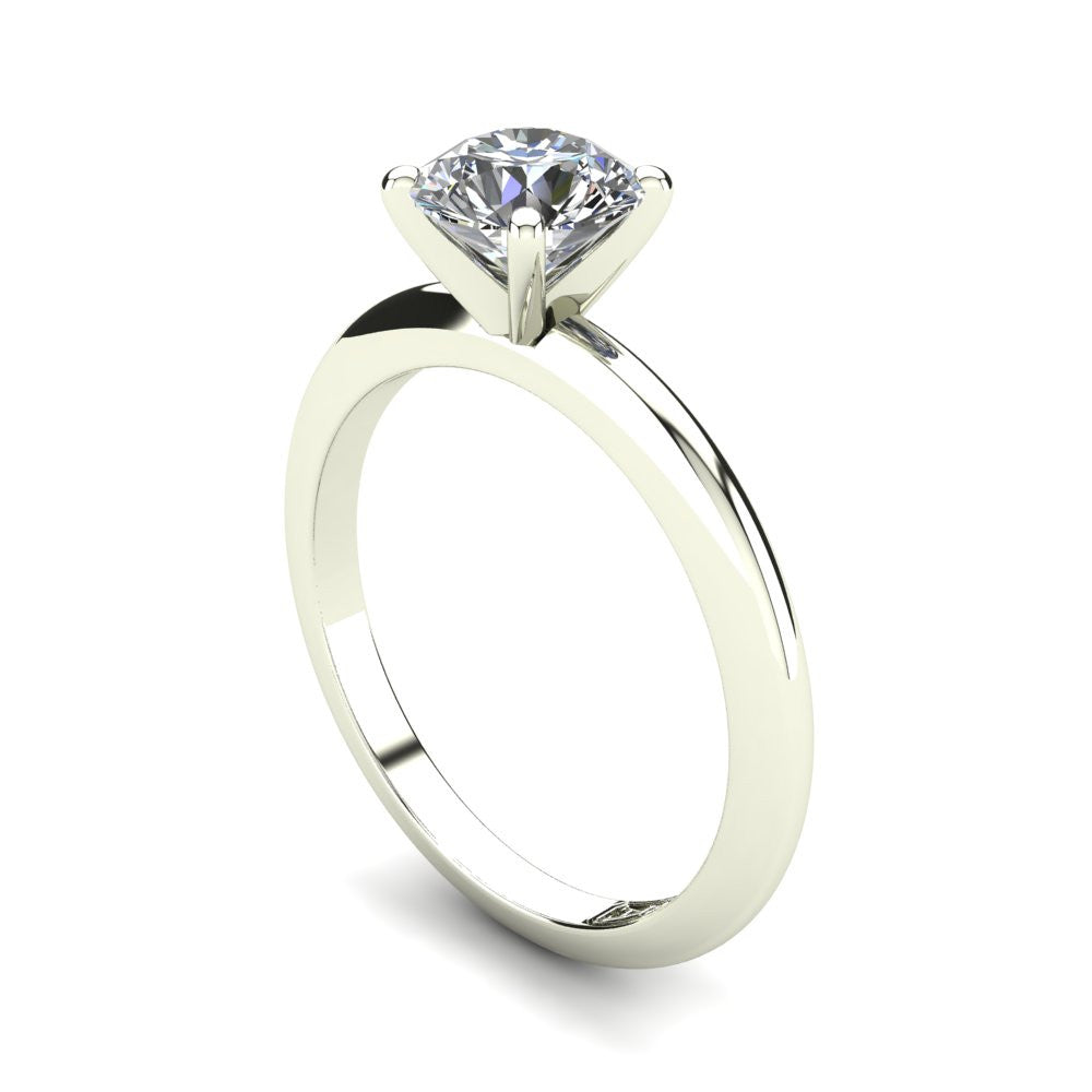 'Nicole' Round Brilliant Cut Engagement Ring