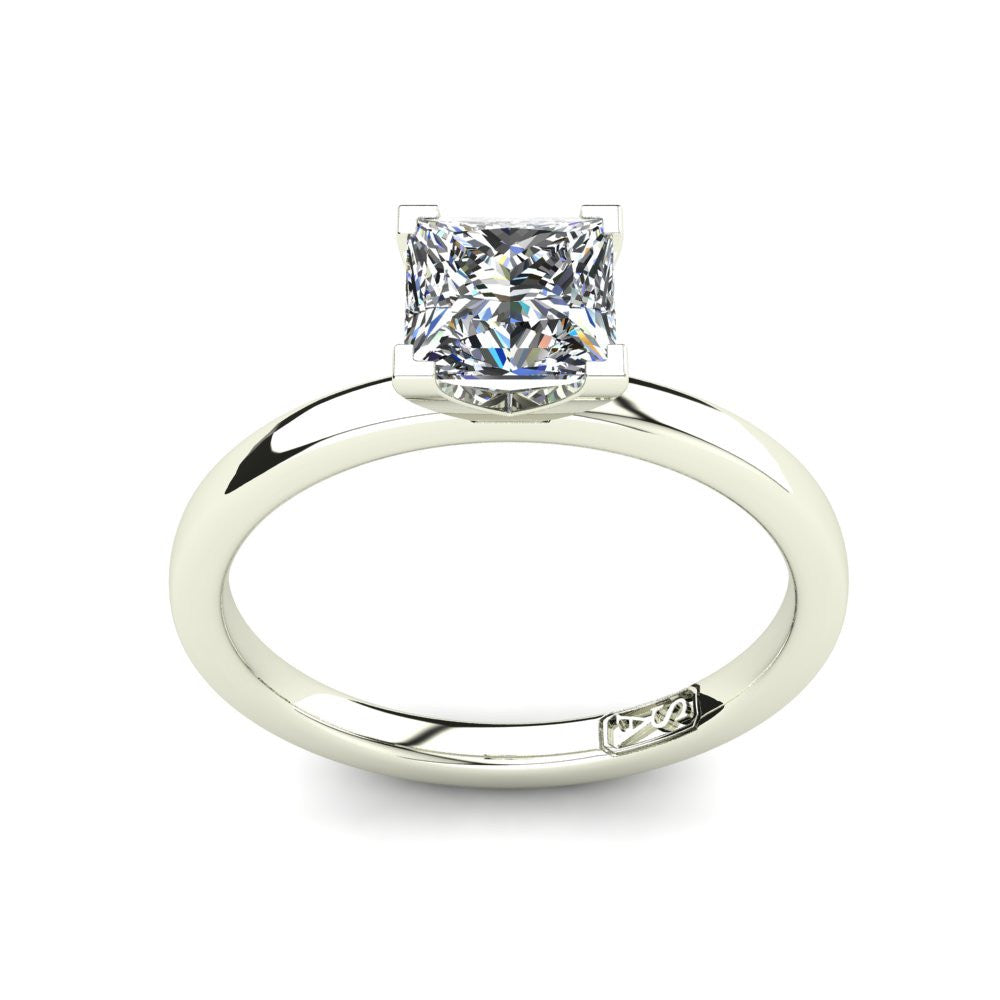 'Fiona' Princess Cut Engagement Ring
