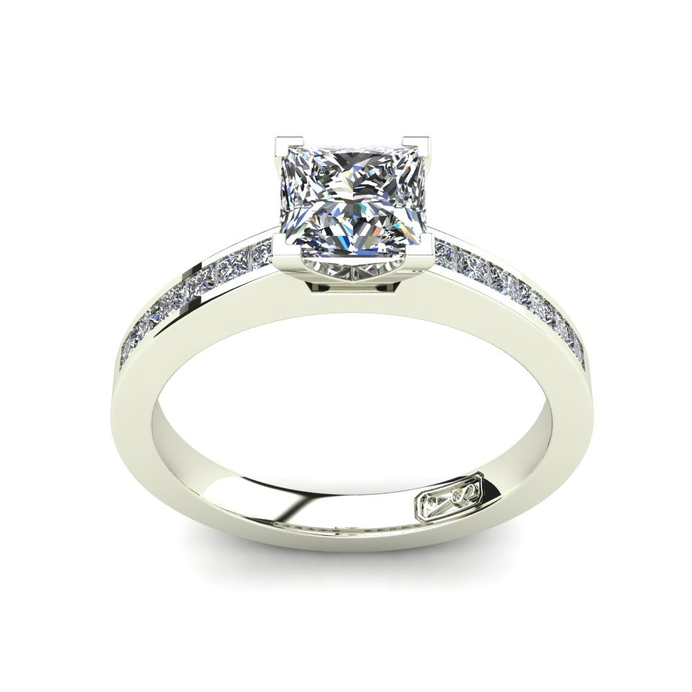 'Lydia' Princess Cut Engagement Ring