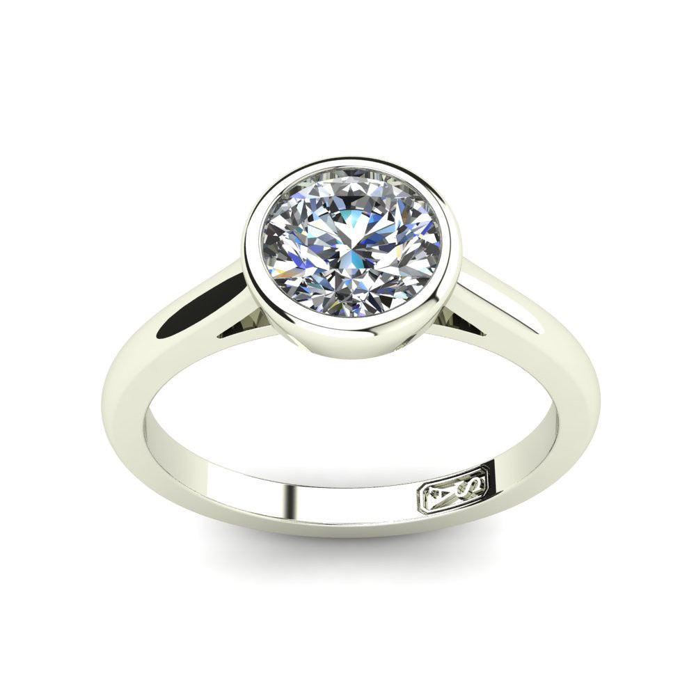 'Abbie' Round Brilliant Cut Engagement Ring