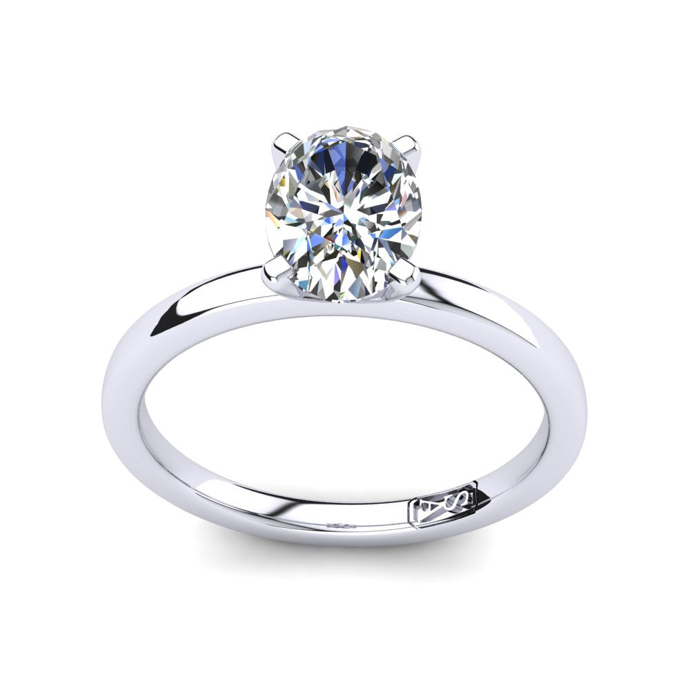 'Fiona' Oval Cut Engagement Ring