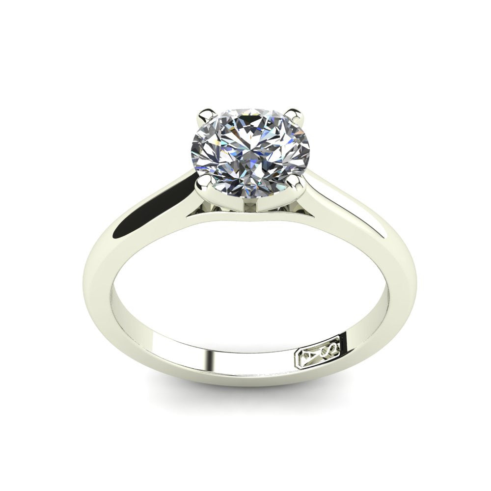 'Katie' Round Brilliant Cut Engagement Ring