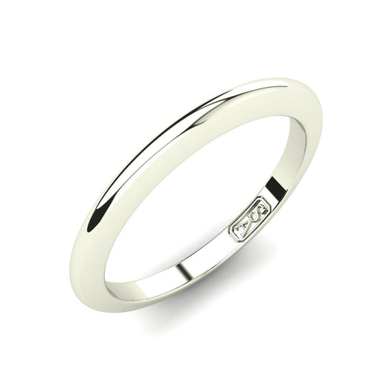 Classic Knife Edge Wedding Band