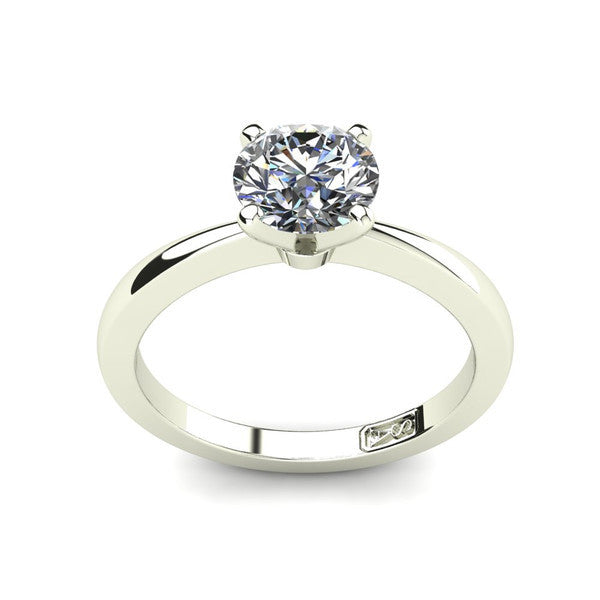 'Grace' Round Brilliant Cut Engagement Ring