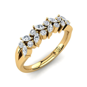 'Kat' Diamond Wedding Band