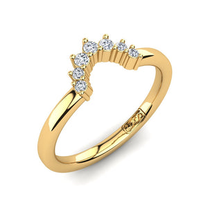'Ivy' Diamond Wedding Band