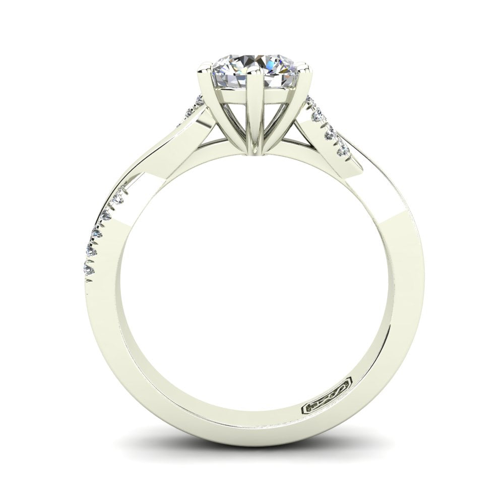 'Adele' Round Brilliant Cut Engagement Ring