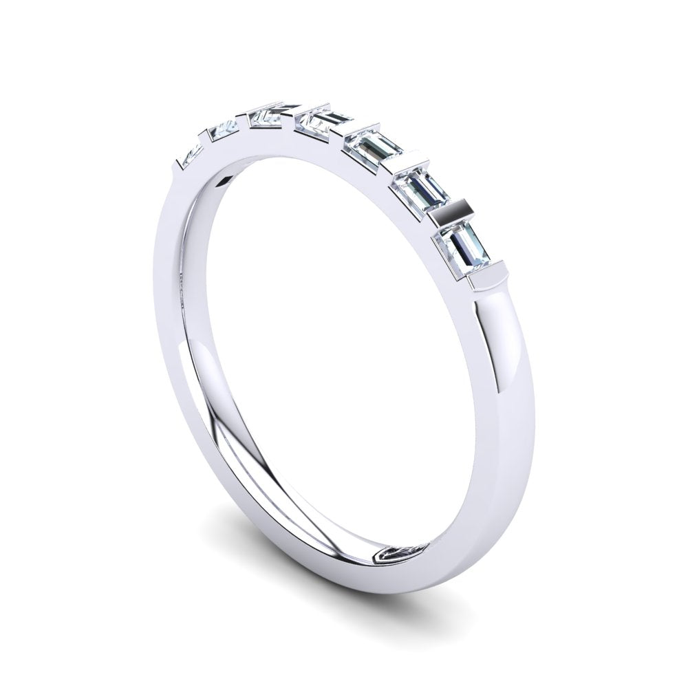 'Ester' Diamond Wedding Band