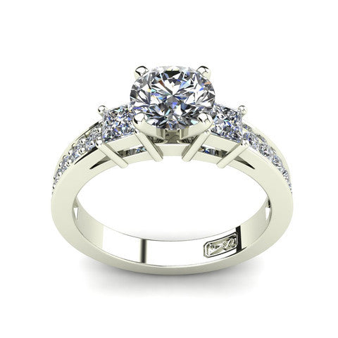 'Tayla' Round Brilliant Cut Engagement Ring