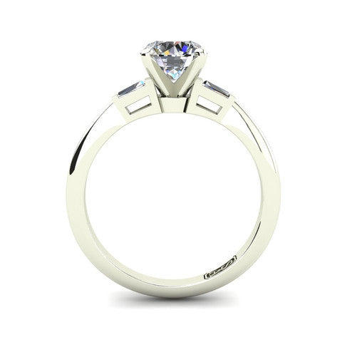 'Marni' Round Brilliant Cut Engagement Ring