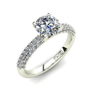 'Kylie' Round Brilliant Cut Engagement Ring