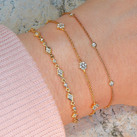 Diamond Lace Bracelet