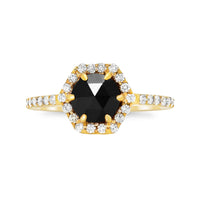 Black Diamond Hex Ring