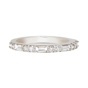 Half Eternity Baguette Diamond Ring