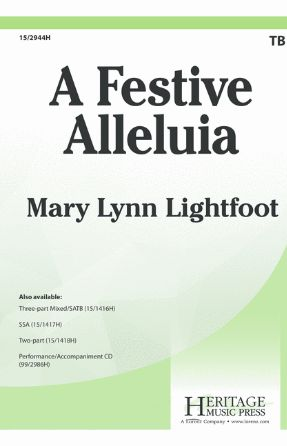 A Festive Alleuia TB - Mary Lynn Lightfoot