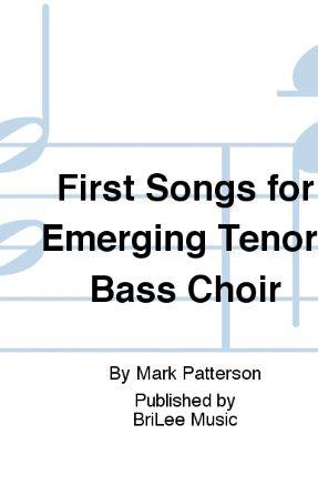 A Future Shared (First Songs For The Emerging Tenor-Bass Choir) TB - Mark Patterson