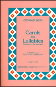 A La Nanita Nana (Carols and Lullabies) SATB - Conrad Susa