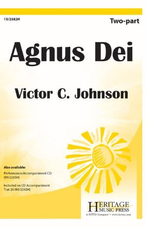 Agnus Dei 3-Part Mixed - Victor C. Johnson