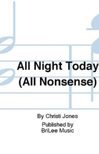 All Night Today T(T)B - Christi Jones