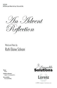 An Advent Reflection SATB - Ruth Elaine Schram