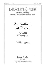 An Anthem Of Praise SATB - Supply Belcher