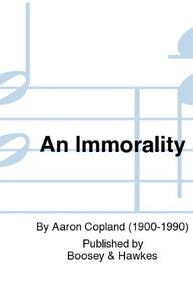 An Immortality SSA - Aaron Copland
