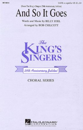 And So It Goes SATB - arr. Bob Chilcott